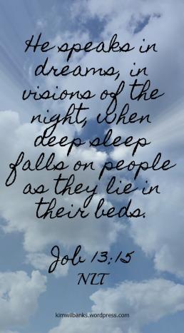 Dreams verse