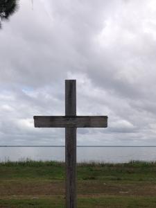Cross at Lake Yale