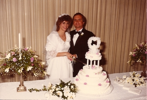 Wedding Day - April 6, 1984
