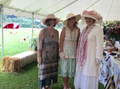 We met Lady Carnarvon and posed for a picture in the bazaar tent