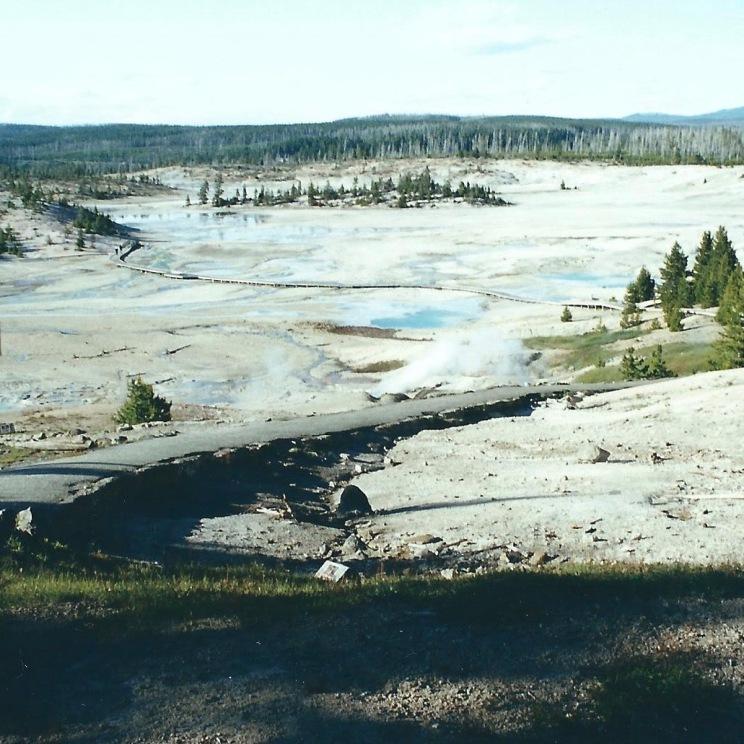 Norris Geyser Basin, YNP