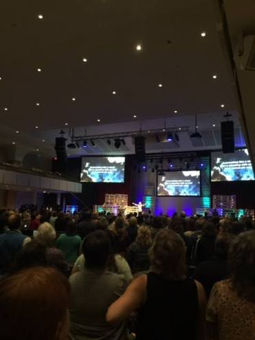 Worshiping at BRMCWC (thanks Cathy Baker for the photo)