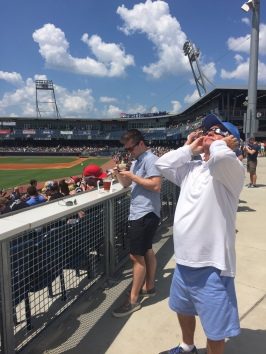 Viewing the Eclipse With Official Eclipse Glasses
