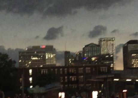 Downtown Nashville at 1:30 p.m.