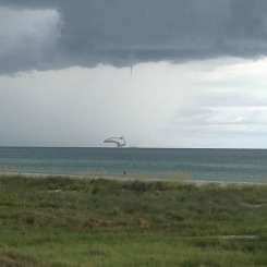 Evidence of the Waterspout