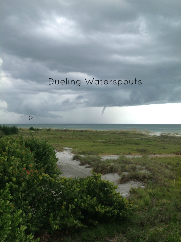 Dueling Waterspouts