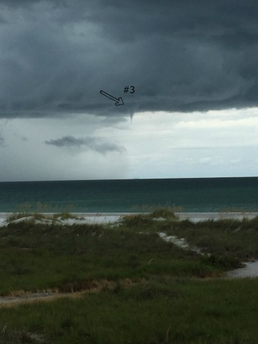 Another Waterspout Forming