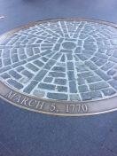 Site of Boston Massacre