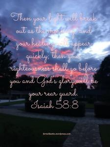 Isaiah 58-8