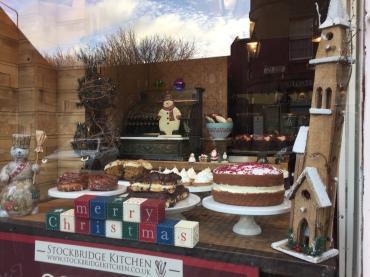 Bakery Full of Christmas Goodies