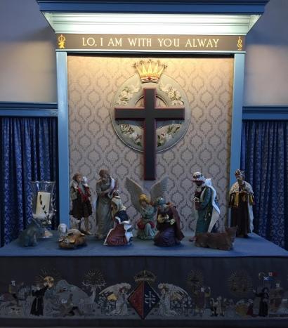 Nativity in Canongate Kirk