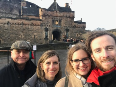Family Photo Edinburgh Castle