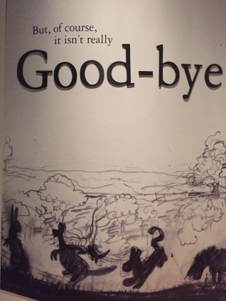 Good-bye's aren't fun