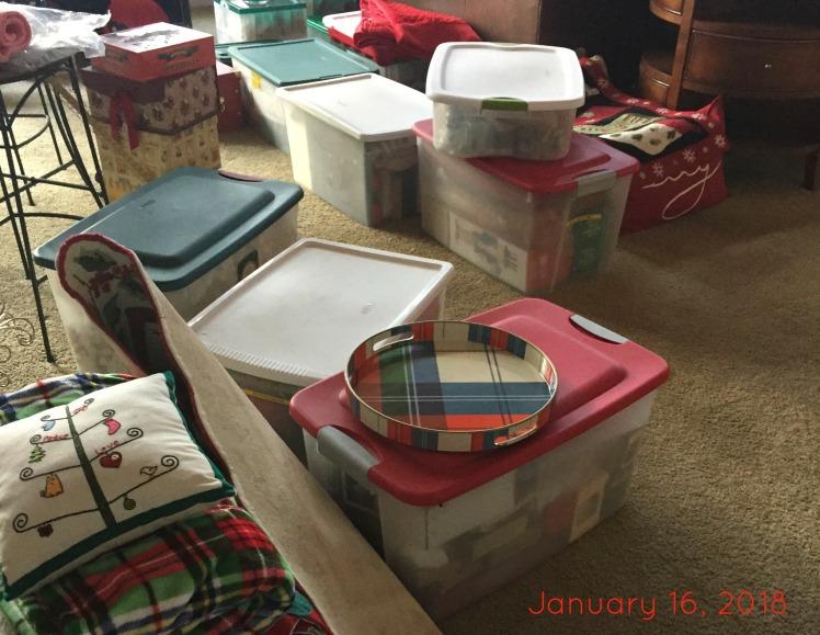 Putting Christmas Away