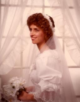 My Bridal Portrait circa 1984