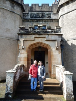 At Dunvegan Castle With Family