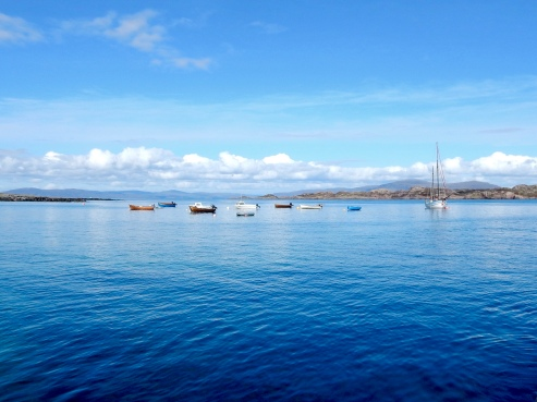 Peaceful Waters Off Iona