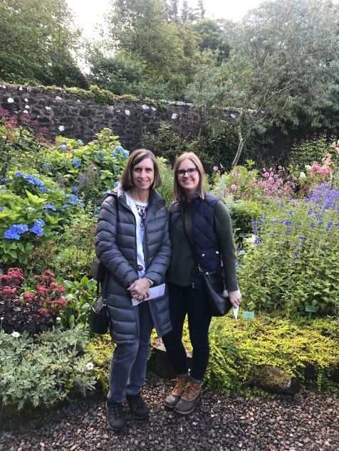 Gardens At Dunvegan With Family