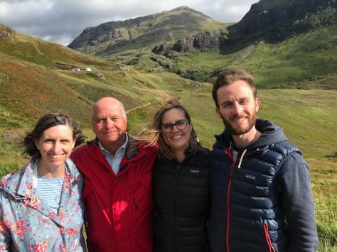 Glencoe With Family