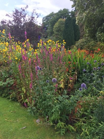 Flower Garden at Glamis Castle