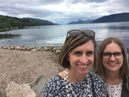 With My Girl at Loch Ness