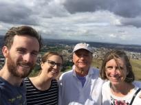 Arthur's Seat Edinburgh With Family