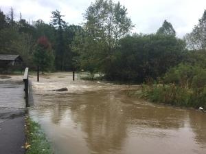 Flood in Banner Elk Park