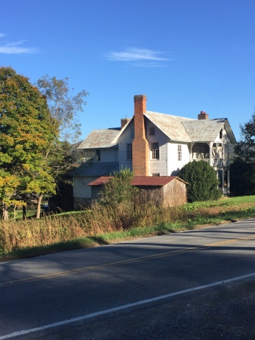 Old House on Road - Valle Crucis