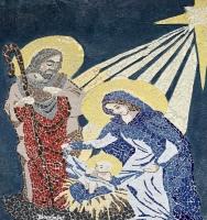 Mosaic in Downtown Bethlehem
