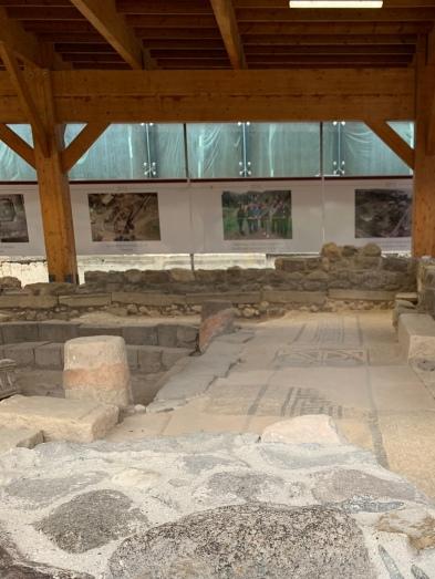 Ruins of First Century Synagogue, Magdala