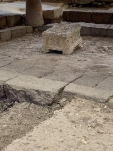 The Magdala Stone, Ruins of Magdala