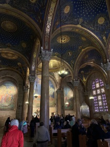 Interior - Church of the Nations