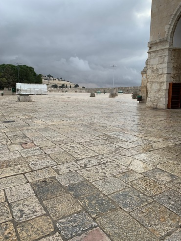 Stone plaza of Temple Mount