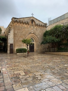 old stone church in Jerusalem