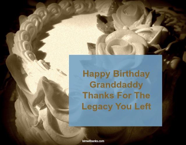 Title Happy Birthday Granddaddy
